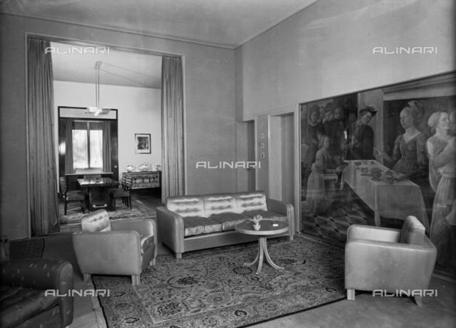 Interior of Villa Buini, Bologna