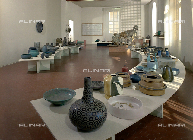 Exhibition of artistic ceramic products from the manufacturers in Faenza