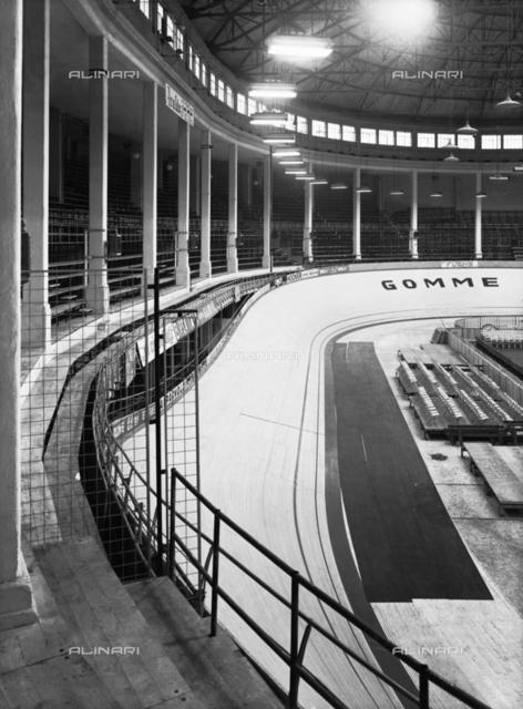 Palazzo dello Sport in Milan. CONI (Italian National Olympic Committee)