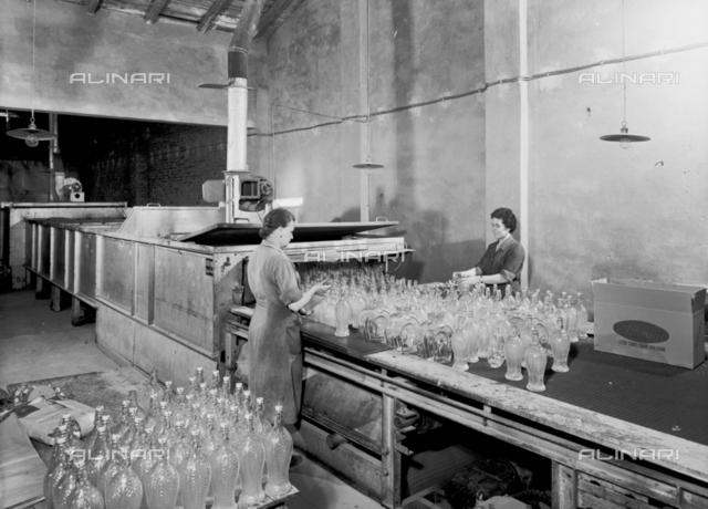 A department of the Vetrosilex factory in Castel Maggiore, Bologna