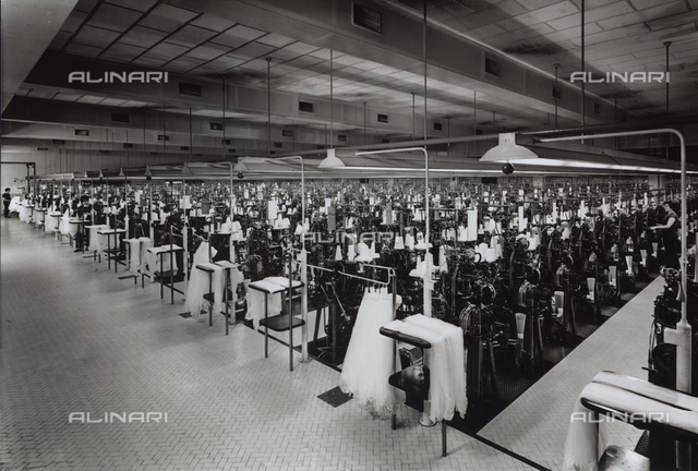 Machines in the O.M.S.A. factory at Faenza.