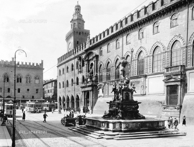 Fountain of Neptune, or of the Giant, Piazza del Nettuno, Bologna