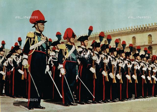 Carabinieri in full uniform