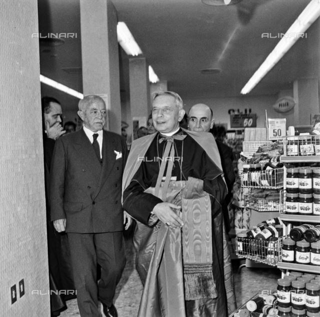 Inauguration of the Standa department stores, Bologna