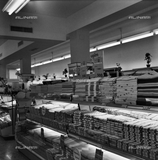Interior of the UPIM - La Rinascente department stores, Bologna