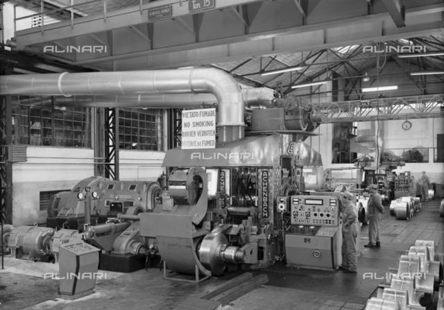 S.M.I.: Interior of a metallurgical plant of Campo Tizzoro, Pistoia
