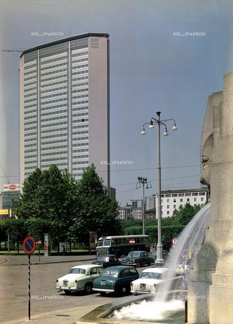 The Pirelli skyskraper in Milan