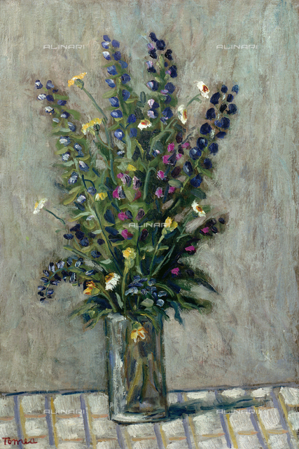 Vase of flowers, Private collection