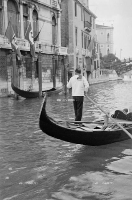 Gondola on the Grand Canal, Venice