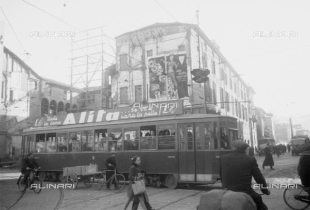 Alita Publicity on tram, Bologna