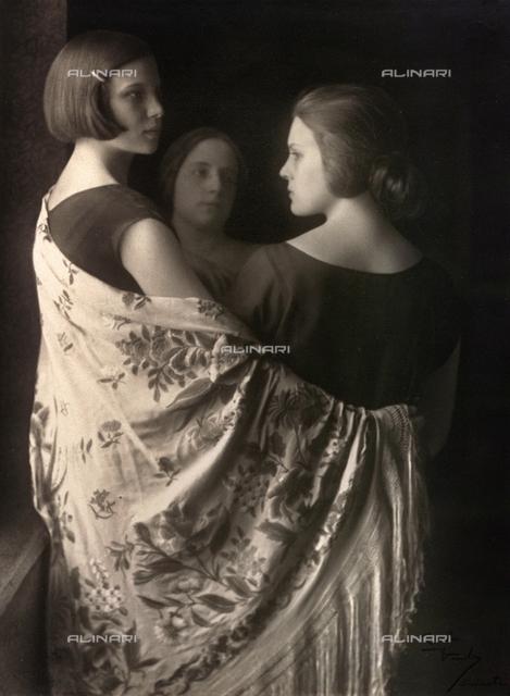 Marion e Wanda Wulz con Bianca Baldussi