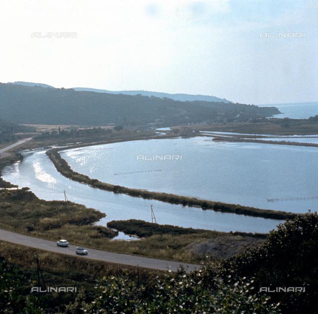 View of the Lagoon of Orbetello