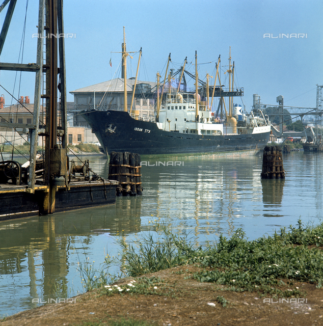 The industrial port of Mestre